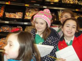Primary 5 trip to Asda