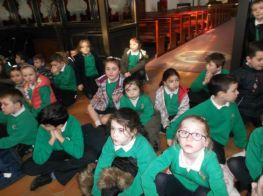 P4's visit to St. Patrick's Church and St. Patrick's Grave