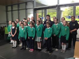 Choir sing at Downe Hospital